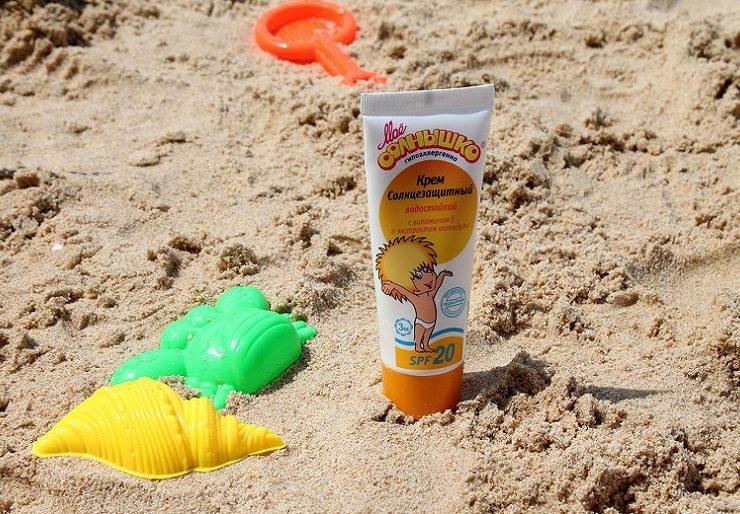 Какой детский солнцезащитный крем выбрать?