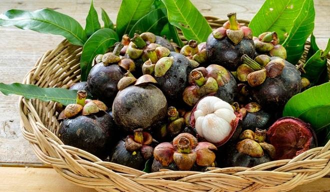 Мангустин - экзотический фрукт