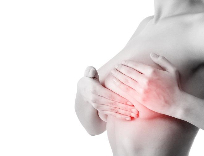 После месячных начала болеть грудь 42