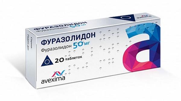 Фуразолидон также назначается и от других болезней