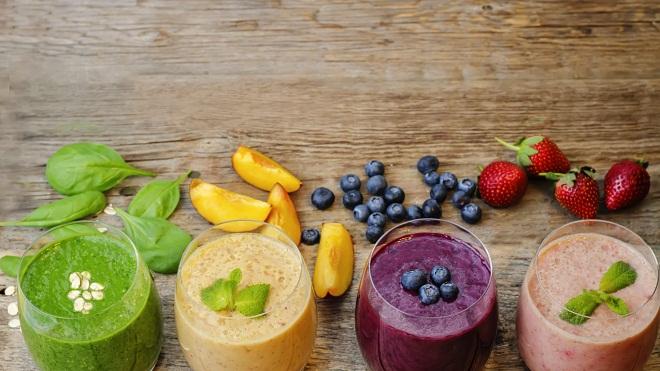 Нужно сочетать различные фрукты и овощи