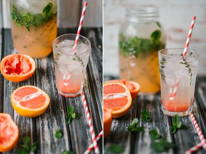 Дренажные напитки для похудения делаются из натуральных компонентов