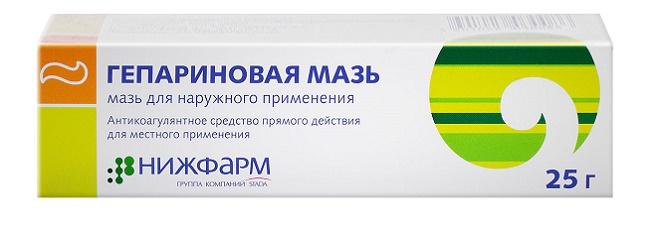Гепариновая мазь - эффективный препарат от гусиных лапок