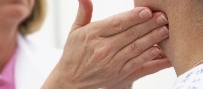 Увеличение шейных лимфоузлов причины