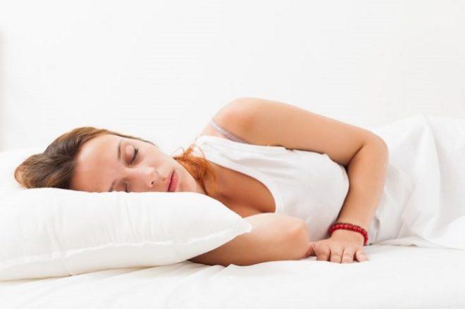 Выбирайте только удобную позу для сна