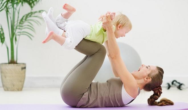 После родов сразу уходит несколько килограмм