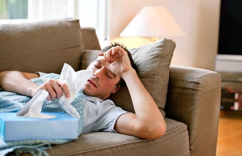 Почему мужчины труднее переносят грипп?