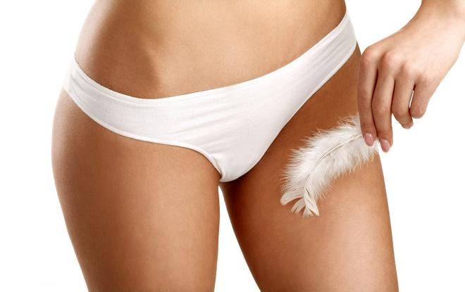 Для депиляции бикини лучше тоже использовать специальный крем
