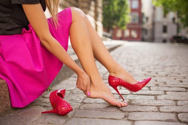 Откажитесь от ношения каблуков