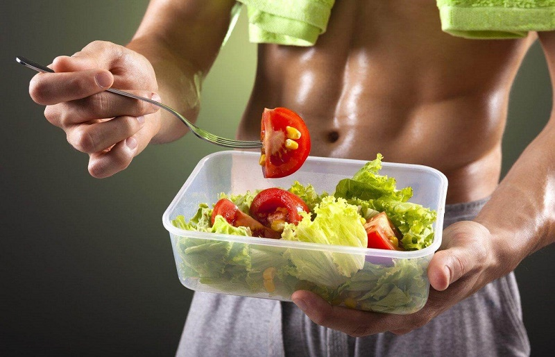 Питание для набора сухой мышечной массы