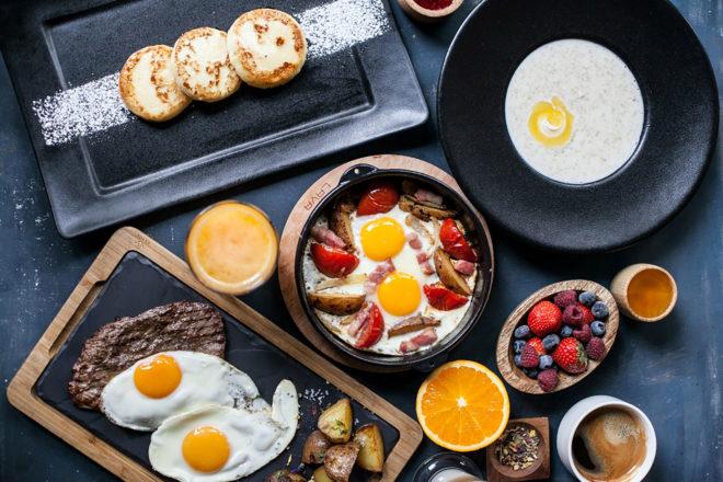 Отлично для завтрака подойдет яйцо