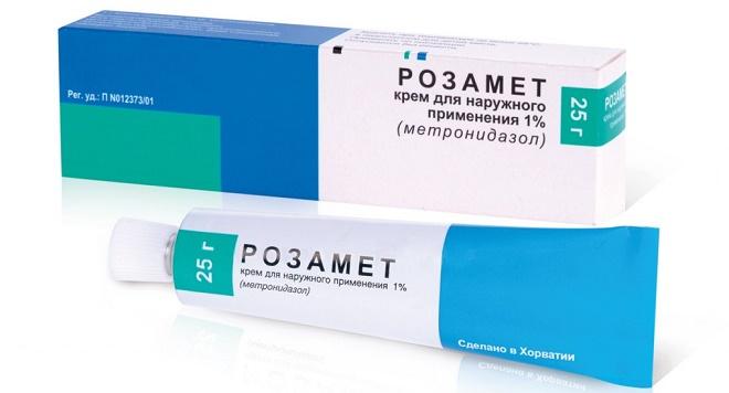 Розамет - один из наиболее эффективных местных препаратов