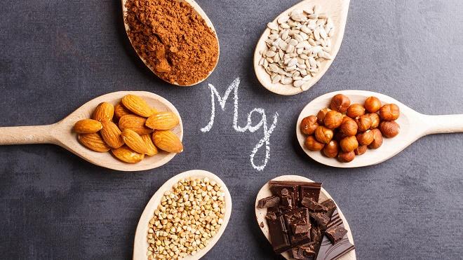 Mg имеется во многих продуктах питания