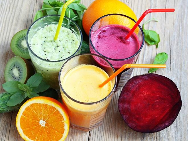 Овощные коктейли считаются очень полезными