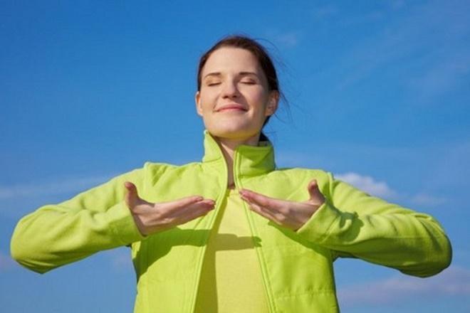 Дыхательная гимнастика выполняется наряду с упражнениями