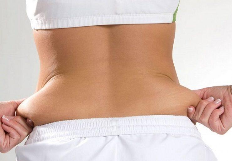 Причины появления жира на животу у женщин