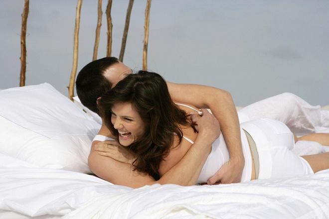 Важно найти удобную позу, в которой женщина не будет испытывать дискомфорт и болезненность