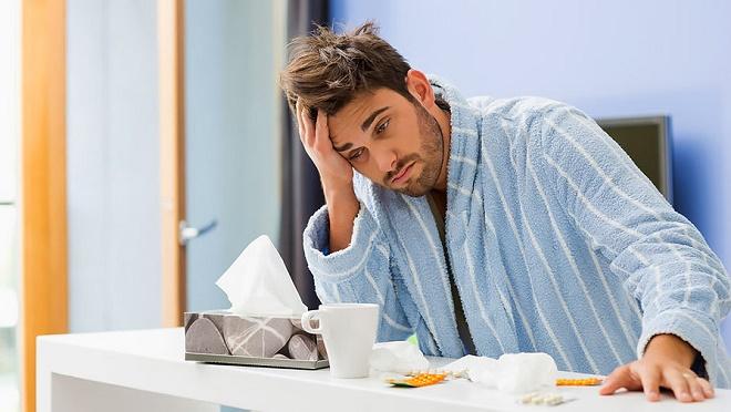 Часто простуда полностью выводит из строя