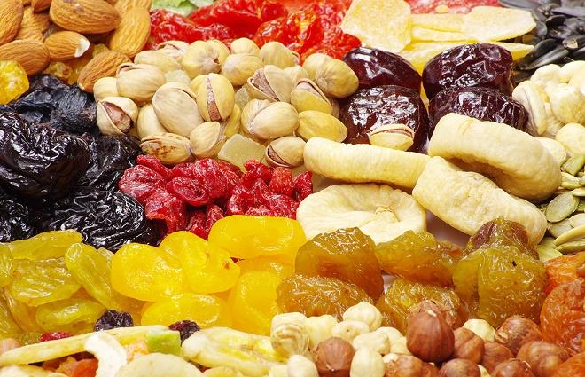 Ешьте больше сухофруктов