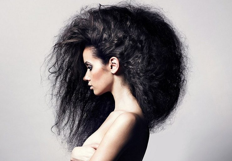 Что делать чтобы волосы были гладкими и не пушились?