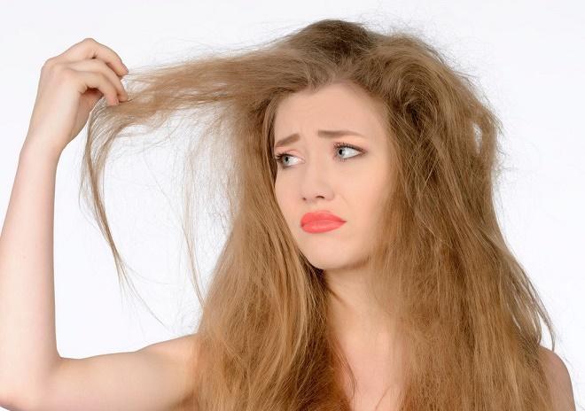 Пушистые волосы являются результатом неправильного ухода